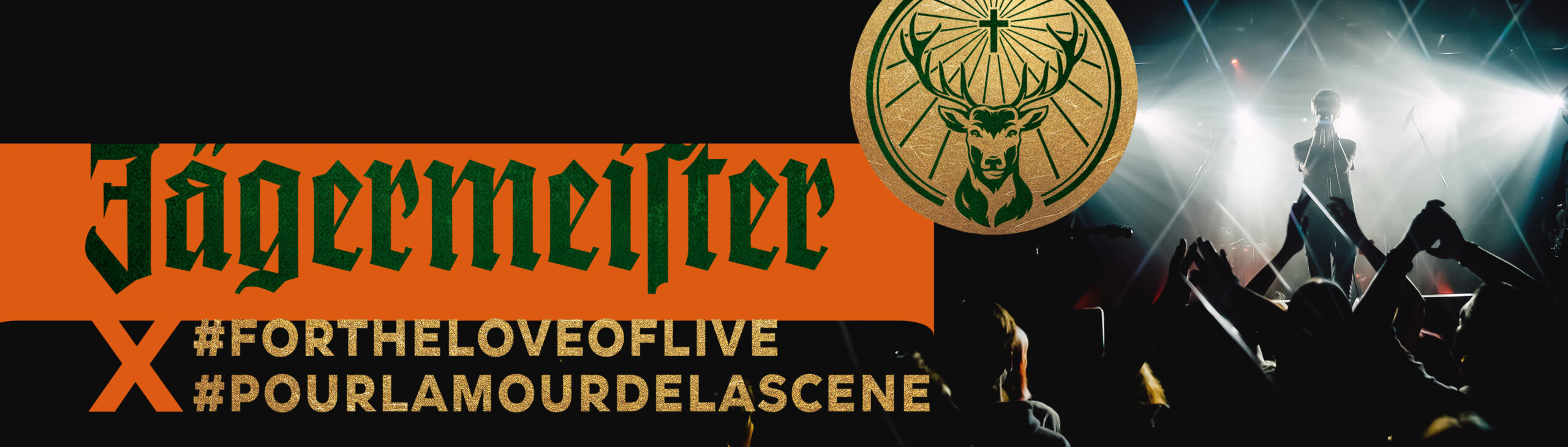 Jägermeister x #ForTheLoveOfLive campaign image