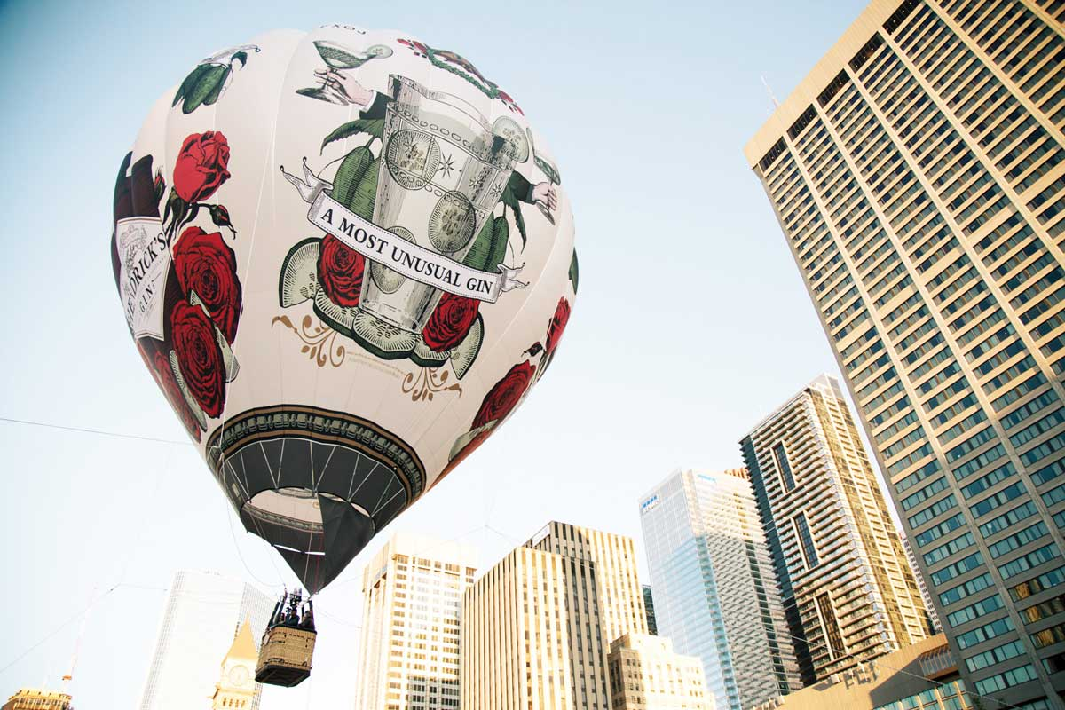 Hendrick's Gin Hot Air Balloon