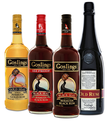 Goslings family of drinks