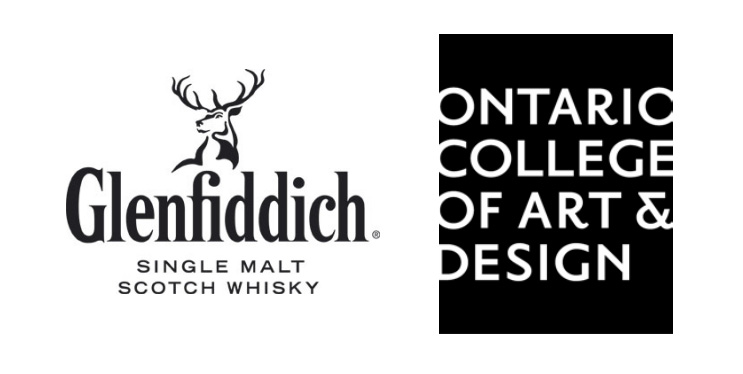 Glenfiddich Partners with OCADU Logos