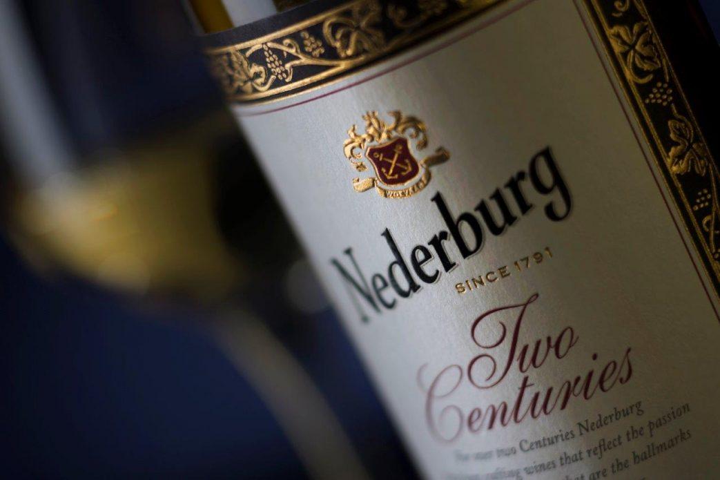 Nederburg Two Centuries Bottle with label