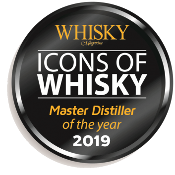 Icons of Whiskey Master Distiller 2019 Seal