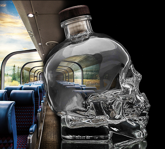 Head Across Canada With Crystal Head Vodka & VIA Rail Canada contest image