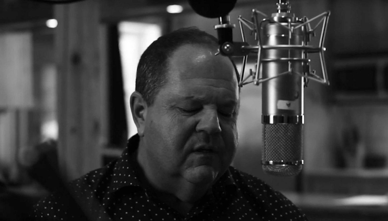 Jeff Orson recording vocals