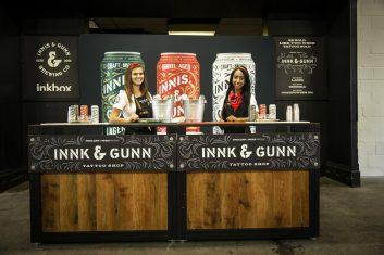 Innis & Gun bartenders