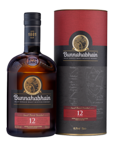 Bunnahabhain 12 Year Old Islay Single Malt Scotch Whisky Bottle