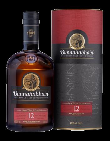 Bunnahabhain 12 Year Old Islay Single Malt Scotch Whisky Bottle