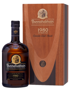 Bunnahabhain 1980 Canasta Finish Islay Single Malt Scotch Whisky Bottle