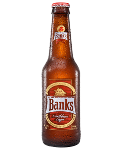 Banks Caribbean Lager Bottle