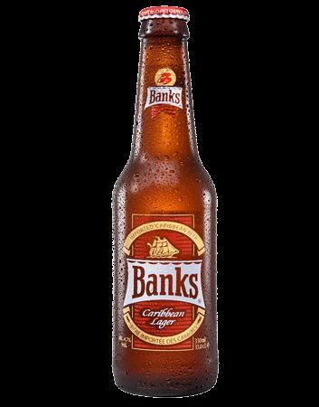Banks Caribbean Lager Bottle