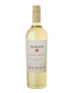 Bodega Norton Barrel Select Sauvignon Blanc Bottle