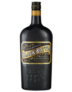 Black Bottle Blended Scotch Whisky Bottle