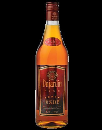 Dujardin VSOP Brandy Bottle