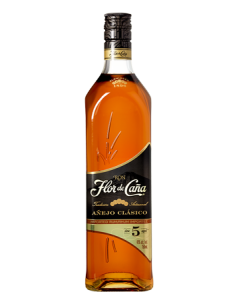 Flor de Caña 5 Year Anejo Clasico Bottle