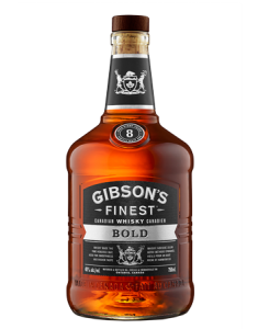 Gibson's Finest Bold 8 Year Old Bottle