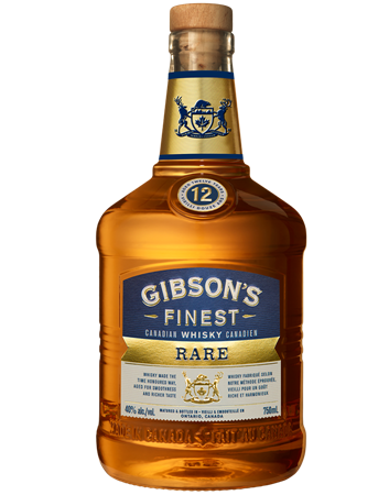 Gibson's Finest Rare 12 Year Old Bottle