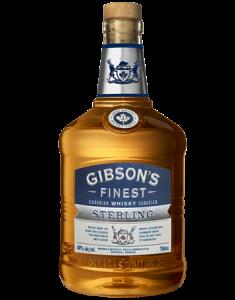 Gibson's Finest Sterling Bottle