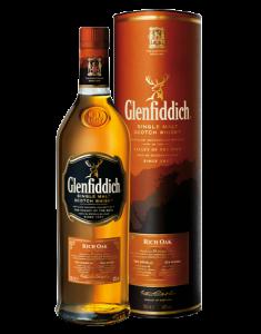 Glenfiddich® 14 Year Old Rich Oak Bottle
