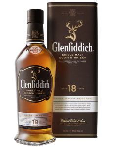 Glenfiddich® 18 Year Old Small Batch Reserve Bottle