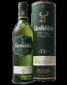 Glenfiddich® 12 Year Old Signature Malt Bottle