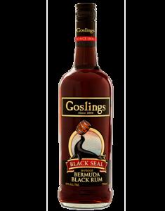 Goslings Black Seal Rum Bottle