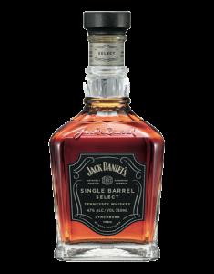 Jack Daniel's Single Barrel Select Bottle