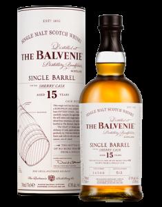 The Balvenie 15 Year Old Single Barrel Bottle