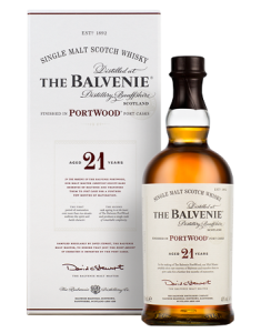The Balvenie 21 Year Old PortWood Bottle