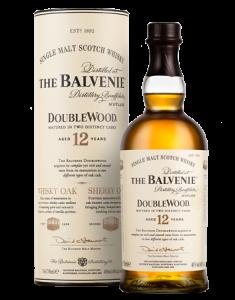 The Balvenie 12 Year Old DoubleWood Bottle