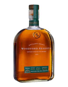 Woodford Reserve Straight Rye Bottle