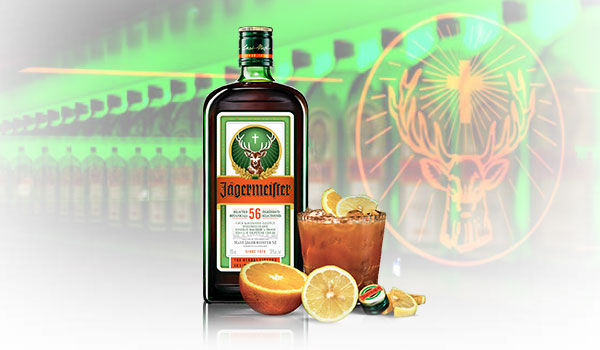 Jager Sour Cocktail