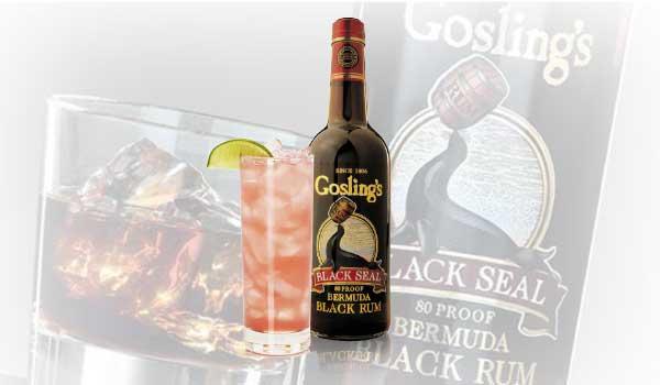Goslings Bermuda Breeze Cocktail