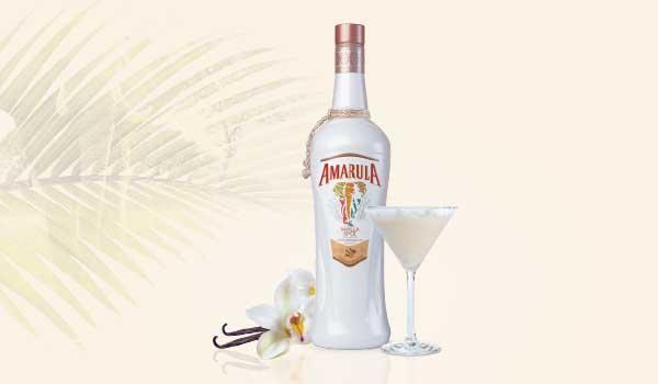 Amarula Vanilla Spice Martini Cocktail