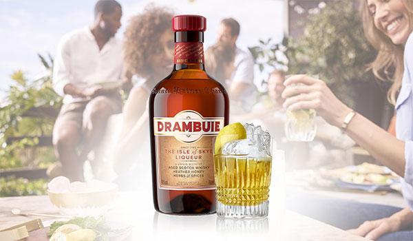 Drambuie Rusty Nail Cocktail