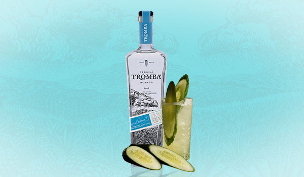 Tromba Cool as a Cucumber Cocktail