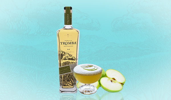 Tromba Salted Agave & Apple Sour Cocktail